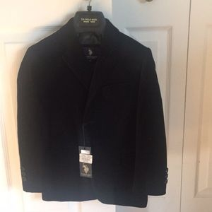 Brand New w/ Tags Black Velvet Blazer